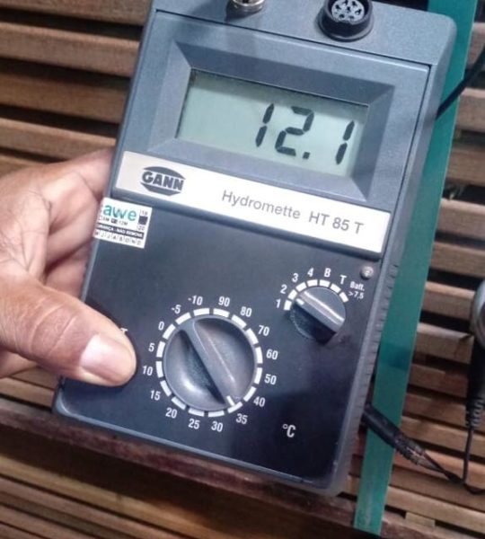 Wood measure